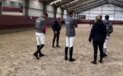 Inspirerende sessie Johan Hamminga derdejaarsstudenten opleiding Paardensport Lentiz